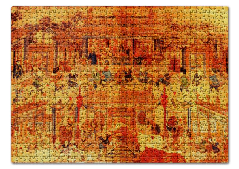 Пазл 43.5 x 31.4 (408 элементов) Printio Шаолинь пазл магнитный 27 4 x 30 4 210 элементов printio шаолинь