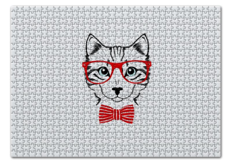 Пазл 43.5 x 31. (408 элементов) Printio Кошка