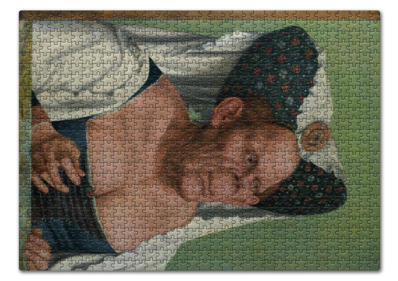 Пазл 43.5 x 31.4 (408 элементов) Printio Уродливая герцогиня (квентин массейс) чехол для iphone 6 глянцевый printio уродливая герцогиня