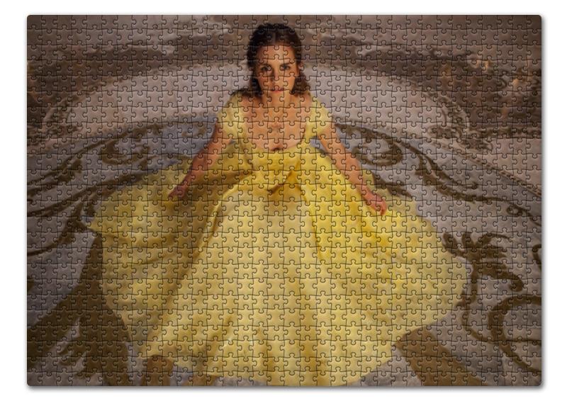 Пазл 43.5 x 31.4 (408 элементов) Printio Красавица и чудовище красавица и чудовище