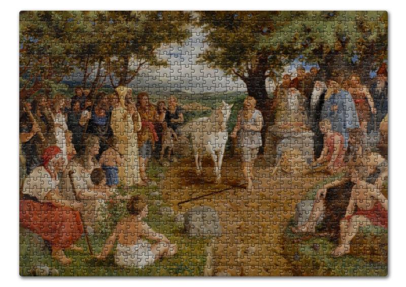 Пазл 43.5 x 31.4 (408 элементов) Printio Конь судьбы (артур бауманис) дейв артур тони артур dave