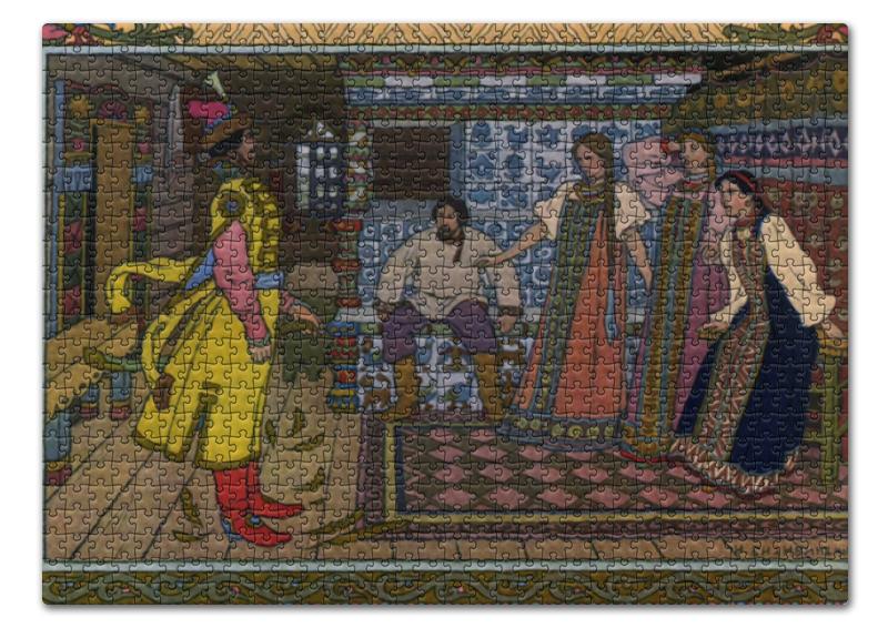 Пазл 43.5 x 31.4 (408 элементов) Printio Марья моревна (иван билибин) воскресный день билибин живопись футляр великие полотна