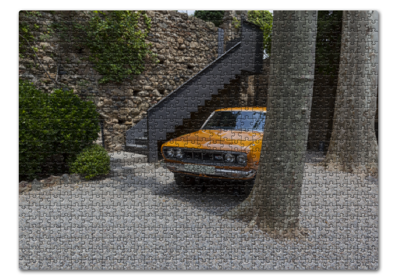 Пазл 43.5 x 31.4 (408 элементов) Printio Автомобиль галы куплю подержаный автомобиль во владивостоке