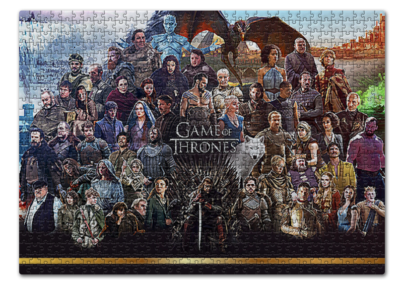 Пазл 43.5 x 31.4 (408 элементов) Printio Игра престолов / game of thrones пазл 43 5 x 31 4 408 элементов printio heroes of the storm