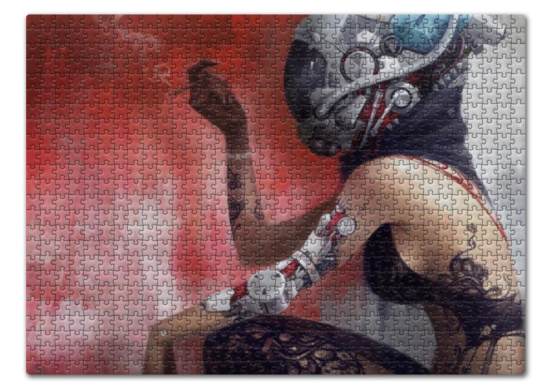 Пазл 43.5 x 31.4 (408 элементов) Printio Steampunk girl