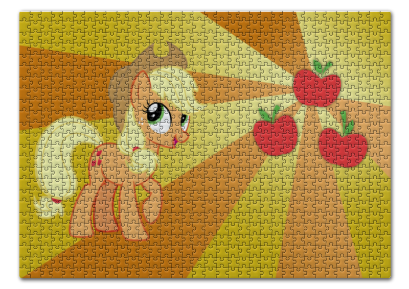 Пазл 43.5 x 31.4 (408 элементов) Printio Applejack color line