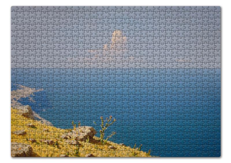Пазл 43.5 x 31.4 (408 элементов) Printio Море. крым (архип куинджи) лонгслив printio крым россия