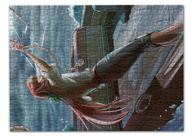 Пазл 43.5 x 31.4 (408 элементов) Printio Девять баллов по бофорту пазл приключение 100 элементов 55580