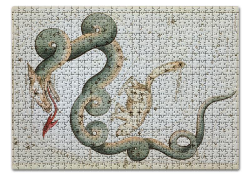 Пазл 43.5 x 31.4 (408 элементов) Printio Дракон и малая медведица (зеркало урании) 24 083 фигура дракон бронза о бали малая 1250493