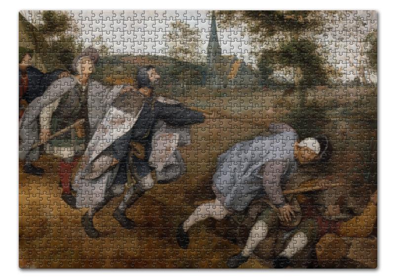 Printio Притча о слепых (питер брейгель старший) пазл 73 5 x 48 8 1000 элементов printio детские игры питер брейгель