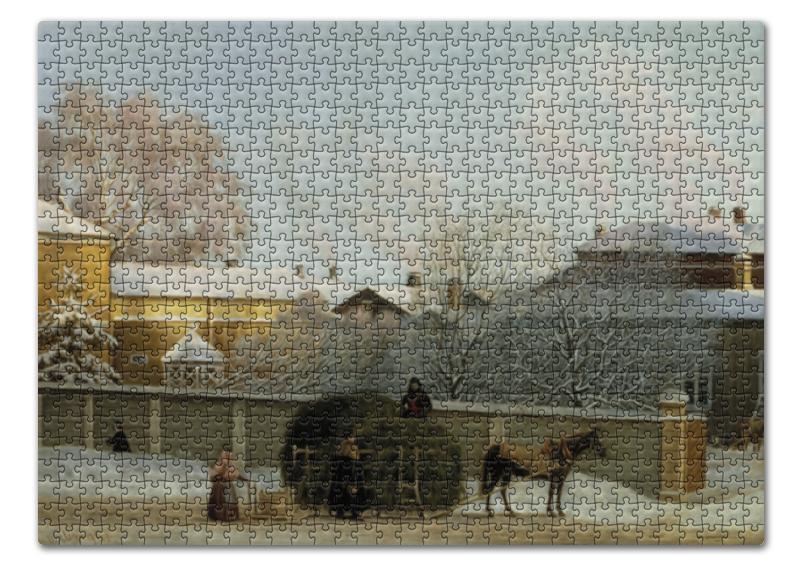 Пазл 43.5 x 31. (408 элементов) Printio Аннанкату  холодное зимнее утро