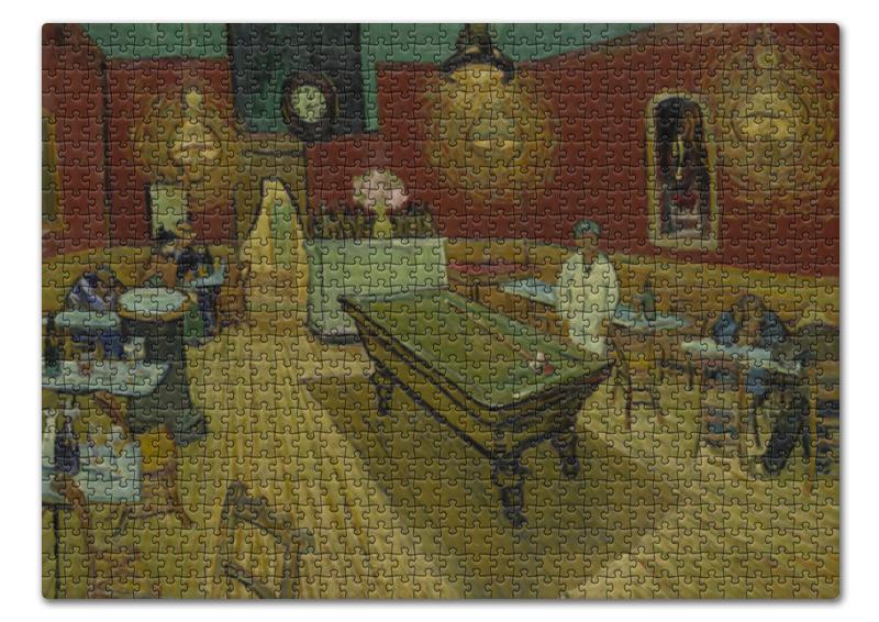 Пазл 43.5 x 31.4 (408 элементов) Printio Ночное кафе ( винсент ван гог) цена 2017