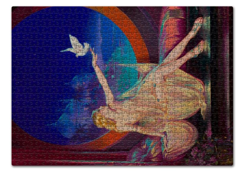 Пазл 43.5 x 31.4 (408 элементов) Printio Султана (генри клайв) подушка 40х40 с полной запечаткой printio султана генри клайв