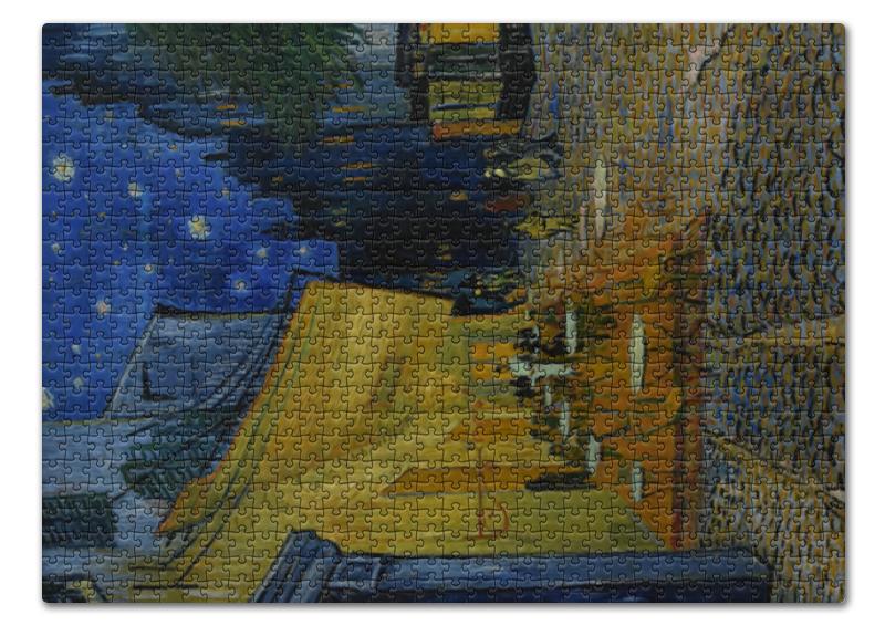 Пазл 43.5 x 31.4 (408 элементов) Printio Ночная терраса кафе ( винсент ван гог) цена 2017