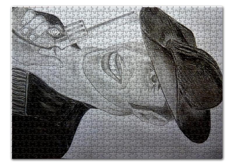 Пазл 43.5 x 31.4 (408 элементов) Printio Ковбой