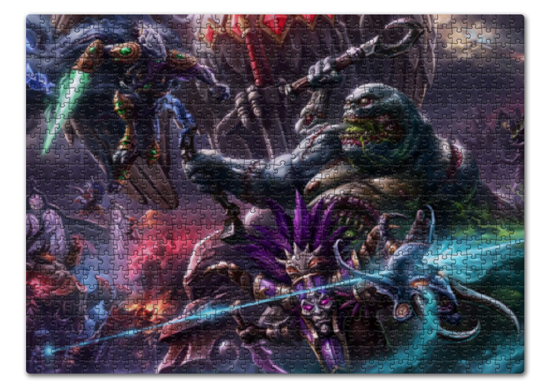 Пазл 43.5 x 31.4 (408 элементов) Printio Heroes of the storm футболка print bar heroes of the storm nova
