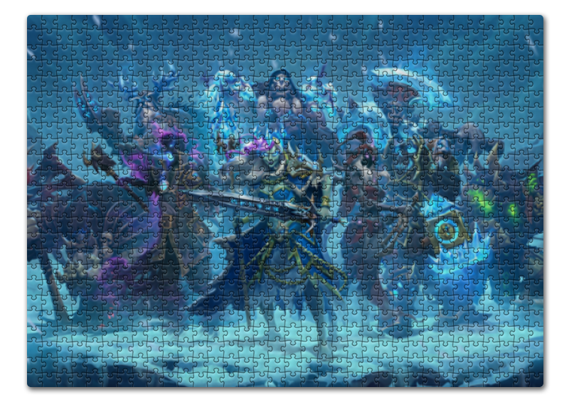 Пазл 43.5 x 31.4 (408 элементов) Printio Knights of the frozen throne the frozen deep