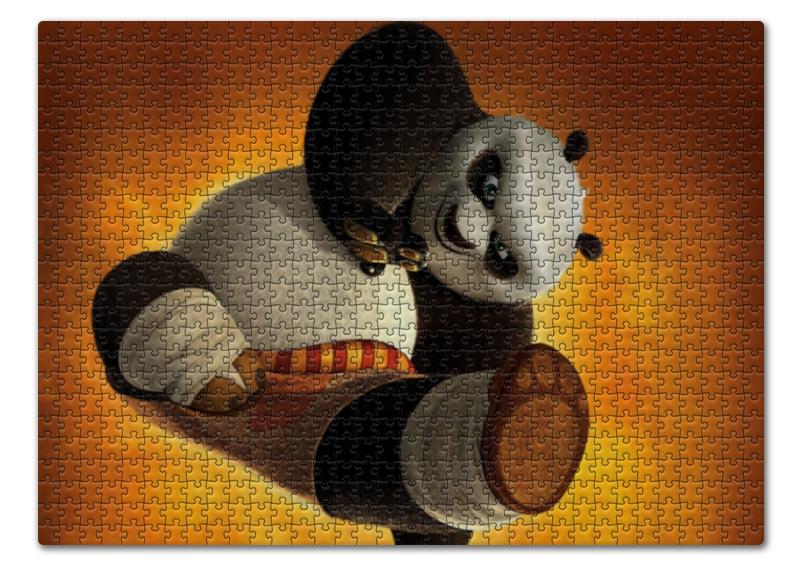 Пазл 43.5 x 31.4 (408 элементов) Printio Кунг-фу панда unice кунг фу панда