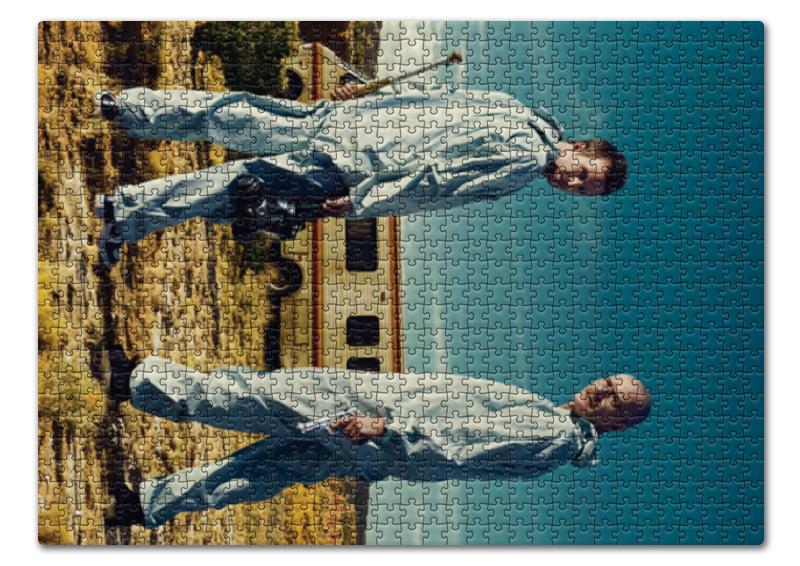 Фото - Пазл 43.5 x 31.4 (408 элементов) Printio Во все тяжкие пазл 43 5 x 31 4 408 элементов printio все оттенки синего