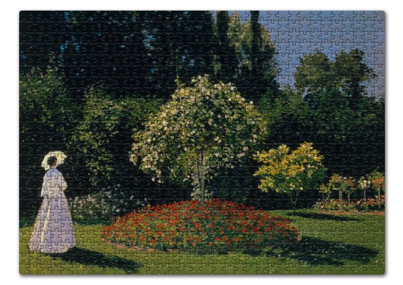 Пазл 43.5 x 31.4 (408 элементов) Printio Жанна-маргарита лекадр в саду пазл 73 5 x 48 8 1000 элементов printio сад художника в аржантее клод моне