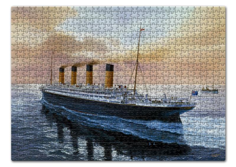 Пазл 43.5 x 31.4 (408 элементов) Printio Титаник пазл 43 5 x 31 4 408 элементов printio увенчание коронование терновым венцом
