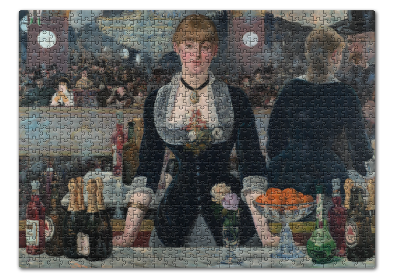 Пазл 43.5 x 31.4 (408 элементов) Printio Бар в «фоли-бержер» (картина эдуарда мане) фоли р как открыть бар для чайников