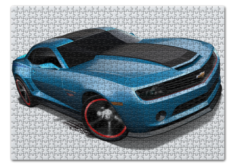Пазл 43.5 x 31.4 (408 элементов) Printio Chevrolet camaro/ шевроле камаро пазл магнитный 18 x 27 126 элементов printio chevrolet camaro шевроле камаро