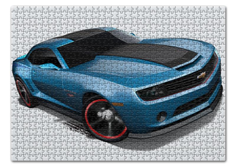 Пазл 43.5 x 31.4 (408 элементов) Printio Chevrolet camaro/ шевроле камаро купить шевроле нива в шахтах