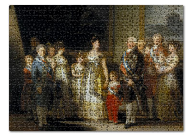 Printio Портрет семьи карла iv (картина гойи) недорого