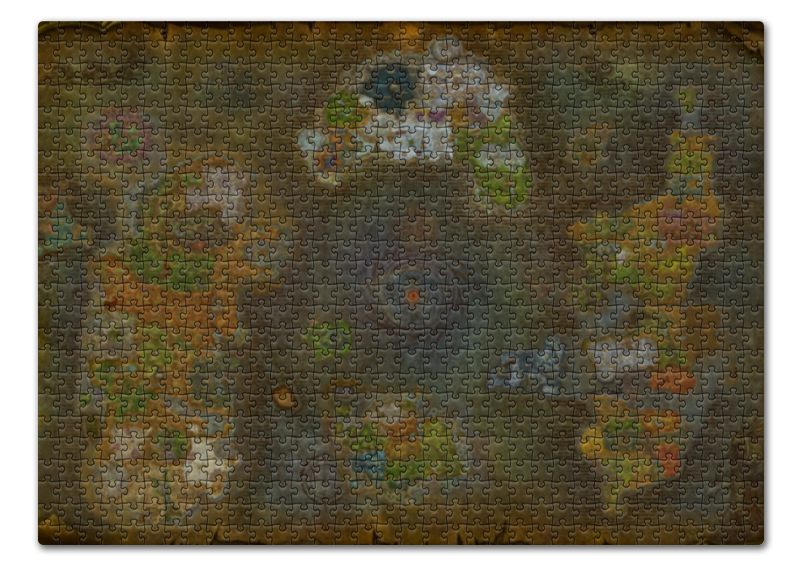 Пазл 43.5 x 31.4 (408 элементов) Printio World of warcraft world map/варкрафт map of fates