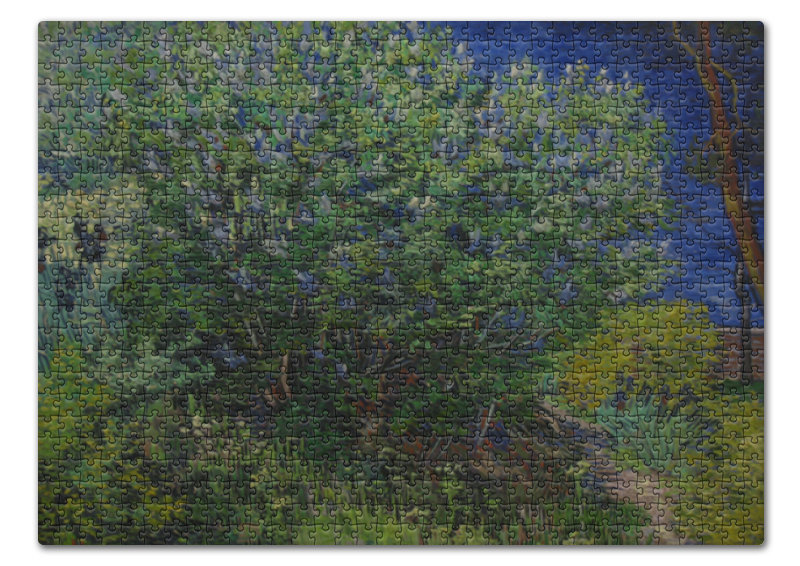 Пазл 43.5 x 31.4 (408 элементов) Printio Куст (винсент ван гог) торт printio женщина в саду винсент ван гог