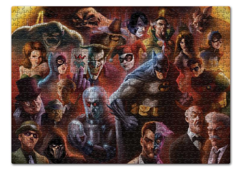Пазл 43.5 x 31.4 (408 элементов) Printio Batman/бэтмен пазл ravensburger мои любимые лошади 300 элементов 13186