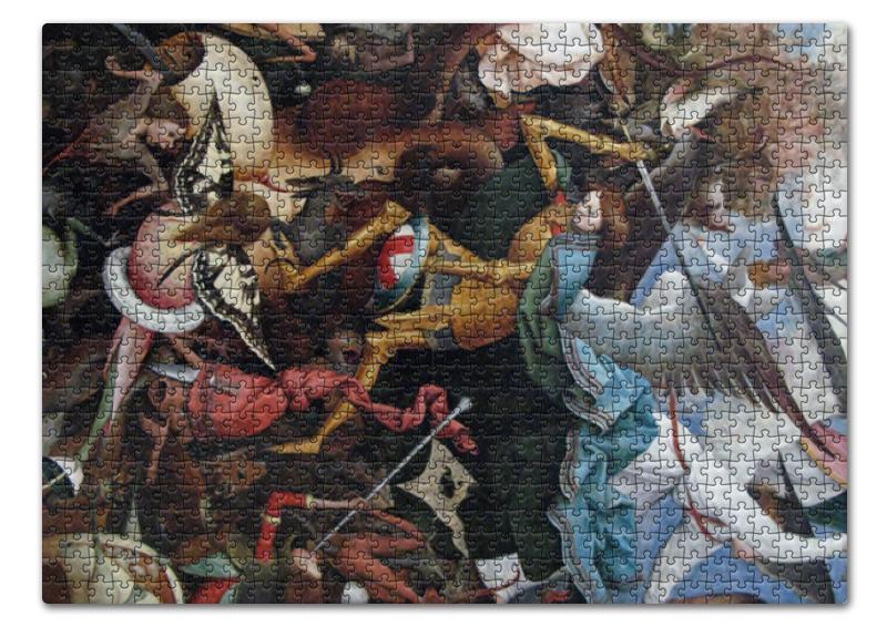 Printio Падение мятежных ангелов (питер брейгель) пазл 73 5 x 48 8 1000 элементов printio детские игры питер брейгель
