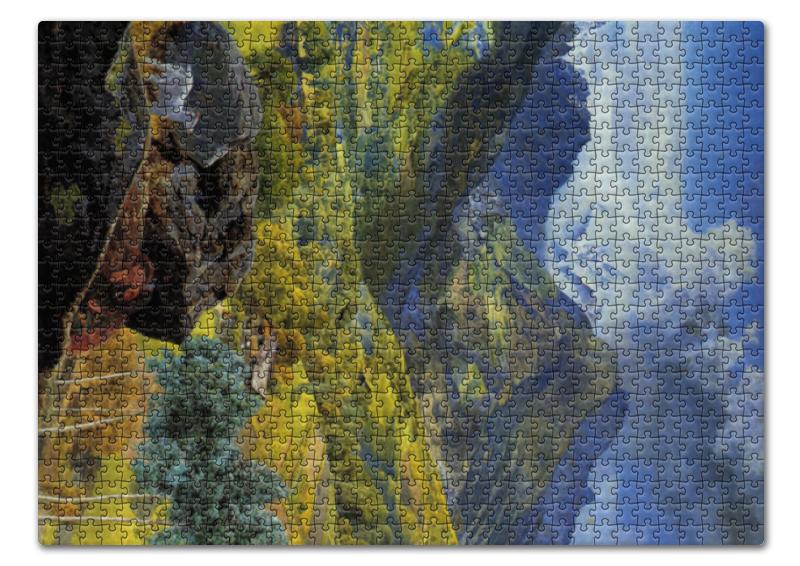 Пазл 43.5 x 31.4 (408 элементов) Printio Валле-д'аоста (картина джона бретта) тетрадь на скрепке printio валле д'аоста картина джона бретта