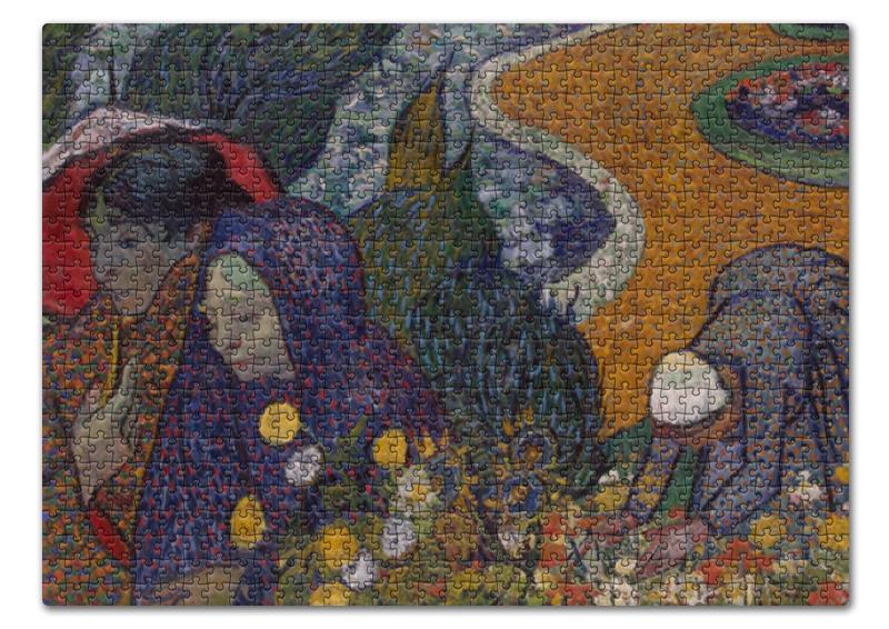 Printio Воспоминание о саде в эттене (винсент ван гог) пазл 43 5 x 31 4 408 элементов printio спальня в арле винсент ван гог