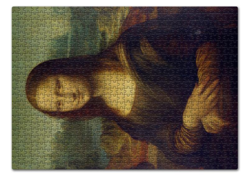 Пазл 43.5 x 31.4 (408 элементов) Printio Джоконда кому улыбается джоконда