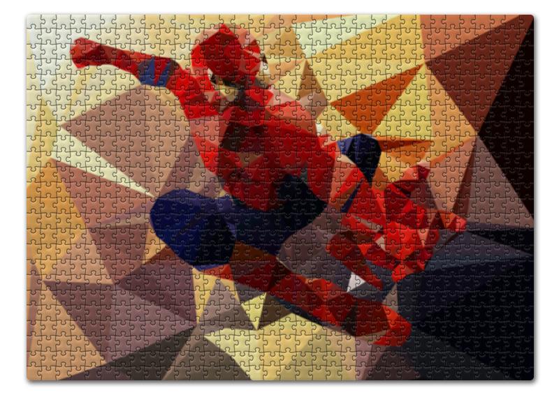 Пазл 43.5 x 31.4 (408 элементов) Printio Человек-паук (spider-man) набор канцелярский spider man 2 пр