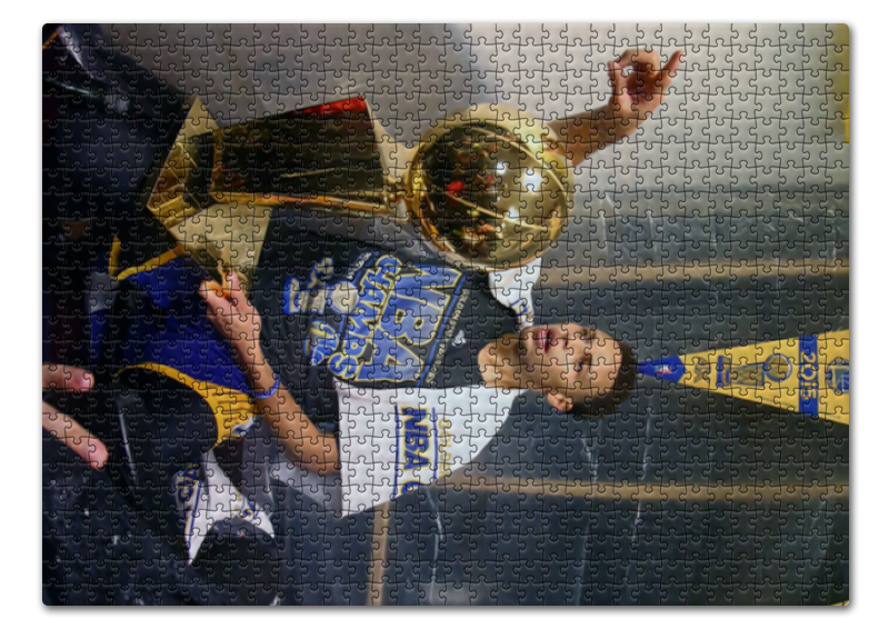 Пазл 43.5 x 31.4 (408 элементов) Printio Stephen curry холст 50x75 printio stephen curry