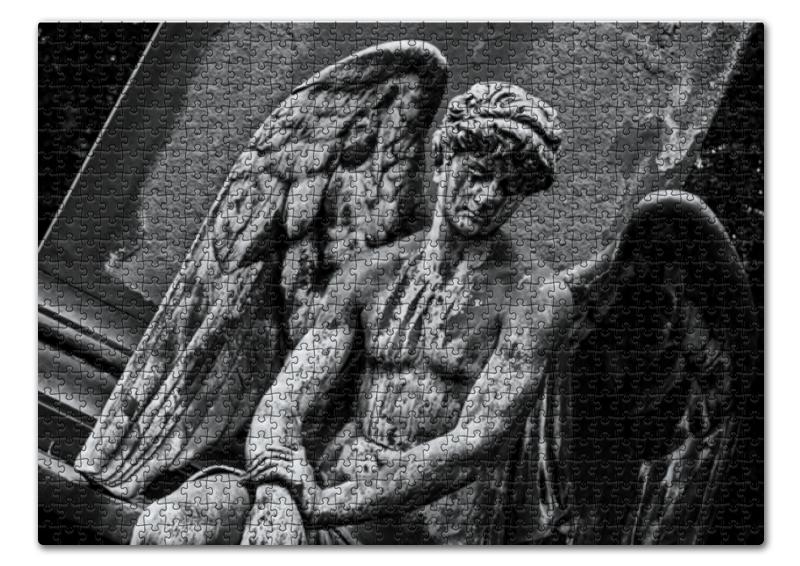 Пазл 43.5 x 31.4 (408 элементов) Printio Ангел-хранитель мой ангел хранитель