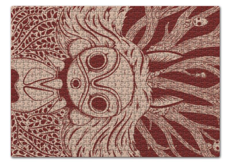 Пазл 43.5 x 31.4 (408 элементов) Printio Принцесса мононоке пазл 73 5 x 48 8 1000 элементов printio сад земных наслаждений