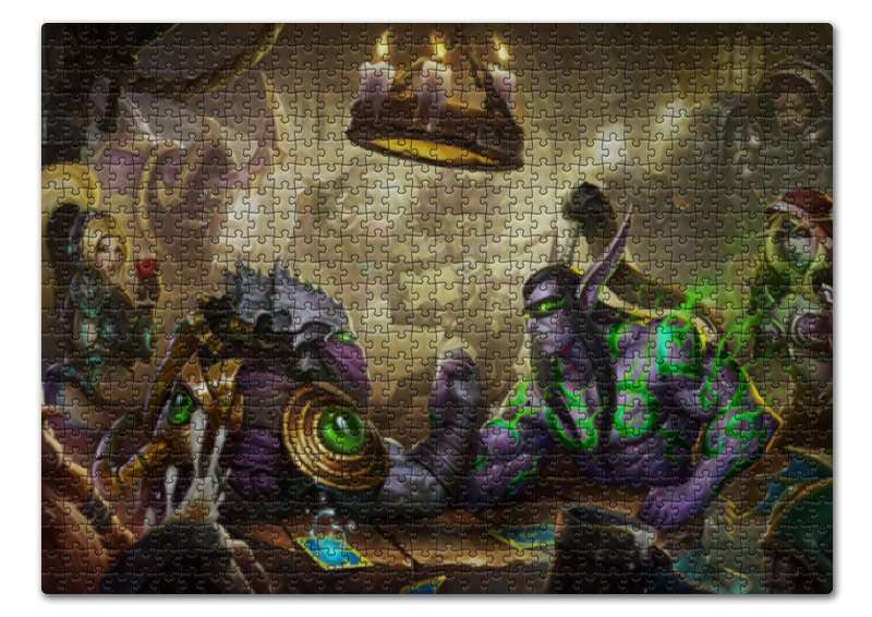 Пазл 43.5 x 31.4 (408 элементов) Printio Heroes of the storm майка print bar heroes of the storm nova
