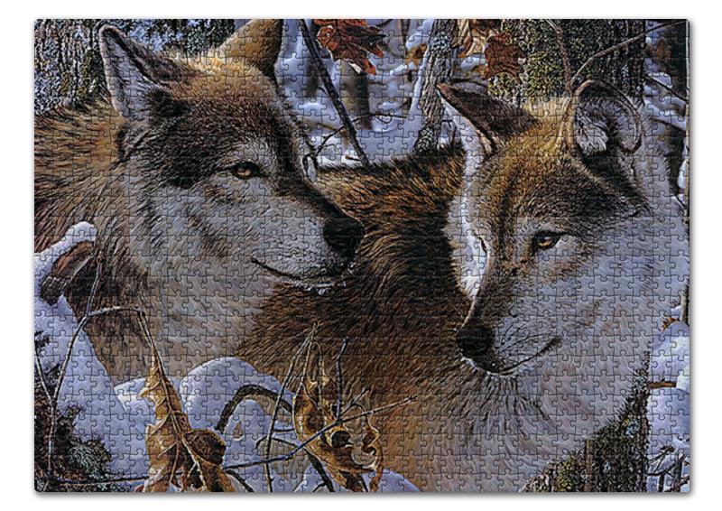 Printio Волки. живая природа стоимость