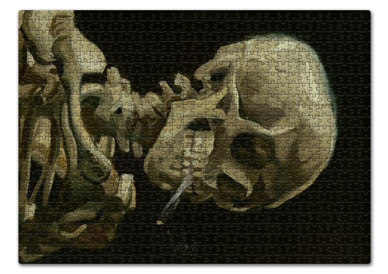 Printio Череп с горящей сигаретой (винсент ван гог) пазл 43 5 x 31 4 408 элементов printio спальня в арле винсент ван гог