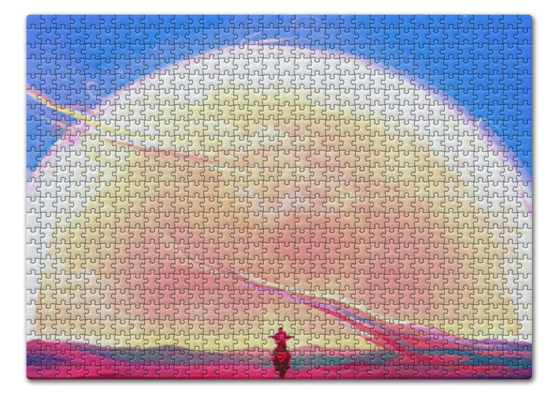 Пазл 43.5 x 31.4 (408 элементов) Printio Digital пазл оригами арт терапия кошка 360 элементов