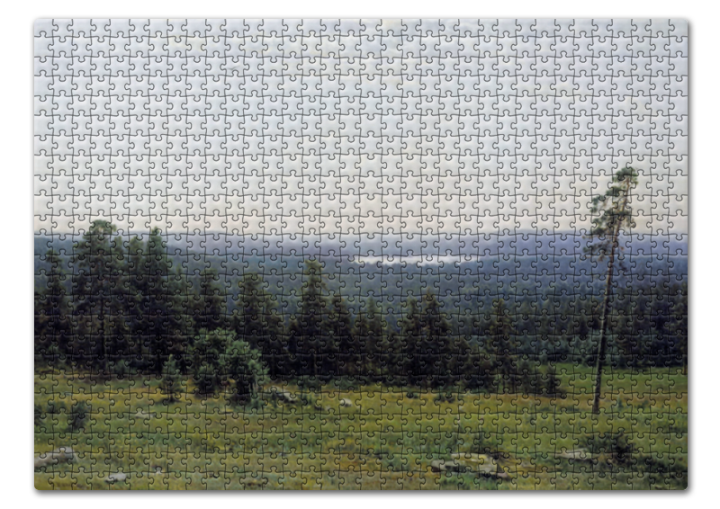 Printio Лесные дали (иван шишкин) пазл 43 5 x 31 4 408 элементов printio лесные дали иван шишкин