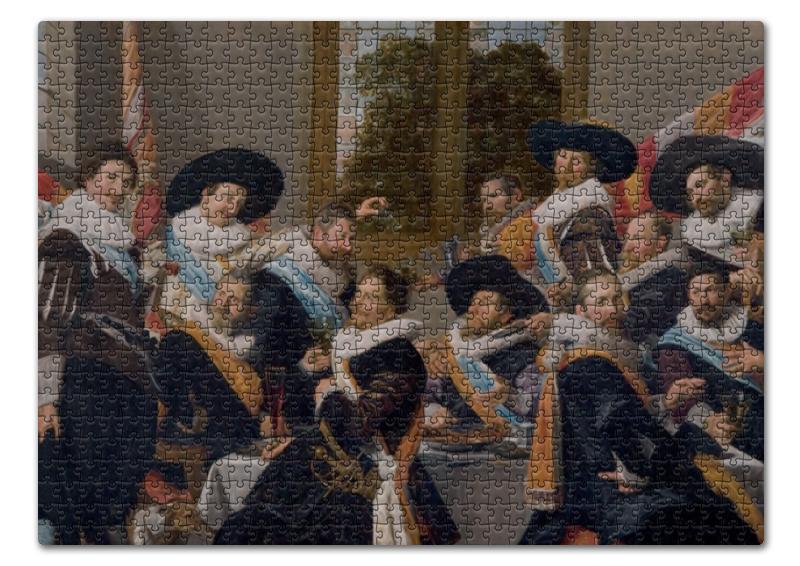 Пазл 43.5 x 31.4 (408 элементов) Printio Групповой портрет стрелков роты святого адриана