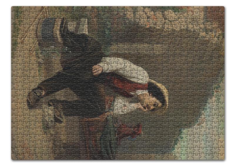 Пазл 43.5 x 31.4 (408 элементов) Printio Шарманщик (василий перов) василий сахаров свободные миры