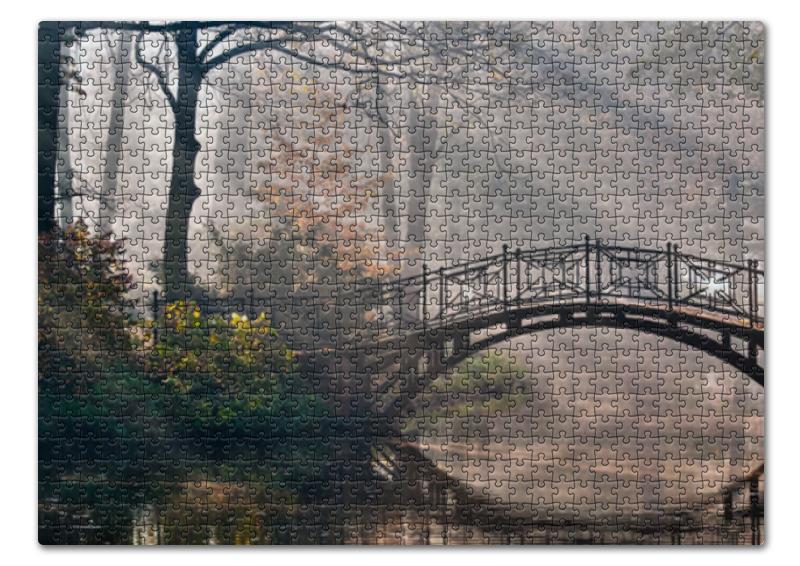 Пазл 43.5 x 31.4 (408 элементов) Printio Пейзаж пазл 73 5 x 48 8 1000 элементов printio скалистый пейзаж шишкин