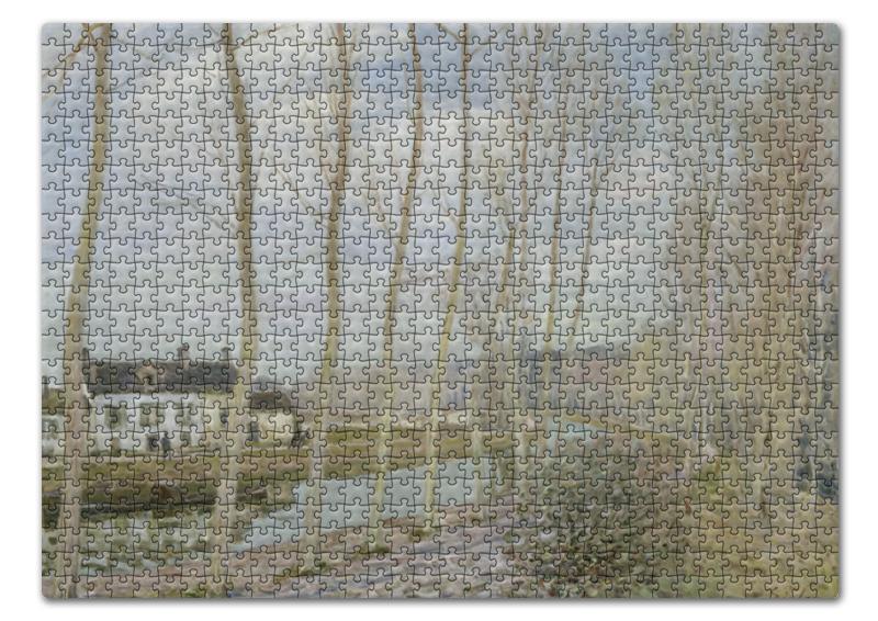 Пазл 43.5 x 31.4 (408 элементов) Printio Канал луэн (альфред сислей) сислей а альфред сислей альбом