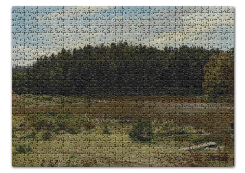 Printio Река на опушке леса (иван шишкин) пазл 43 5 x 31 4 408 элементов printio лесные дали иван шишкин